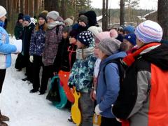 Большие учения: игры в лесу