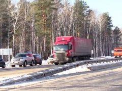 Закрытие дорог для грузовых