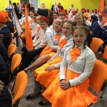 Талицкие школьники вернулись с областного ДЮП фестиваля