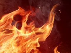 Пожар в Троицком: есть жертва
