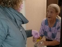 Волонтеры просят оказать помощь пенсионерам