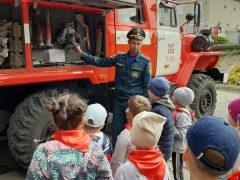 В Талице для кадетов ВДПО организовали «веселые старты»