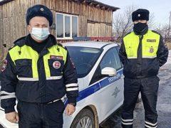 Талицкие полицейские предотвратили пожар
