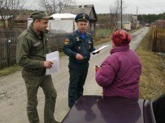 На территории Талицкого ГО ежедневно проводятся рейды патрульно-контрольных групп