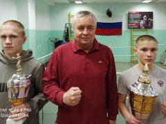Кирил Ишматов и Станислав Васильев — победители областных соревнований по боксу