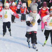 Лыжный масс-старт