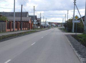 В Троицком завершен капитальный ремонт автомобильных дорог