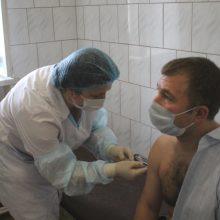 Почти полторы тысячи жителей округа привились первым компонентом вакцины «Спутник V»