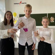 В Талицком районе торжественно открыли образовательные центры «Точка роста» в 3 школах района