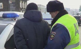 Нетрезвый водитель пытался скрыться от полицейских