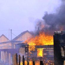 Пожары в округе