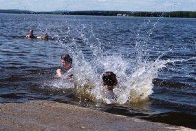 Утонули дети, купаясь без присмотра взрослых