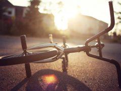 Происшествие с велосипедистом