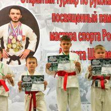 Шестнадцать медалей с турнира по рукопашному бою