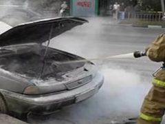 Пожар в Талице