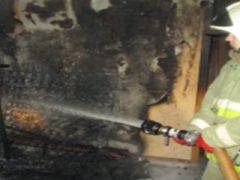 Пожар в ГО Талицкий