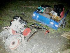 И снова ДТП: пьяный водитель «догнал» мотоблок