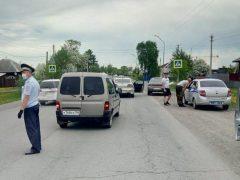 Сразу три авто попали в ДТП в Троицком