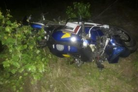 В результате ДТП водитель мотоцикла погиб…