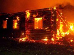 Страшный пожар в Яру