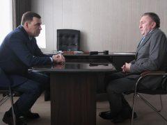 Евгений Куйвашев и Александр Толкачёв обсудили развитие Талицкого городского округа
